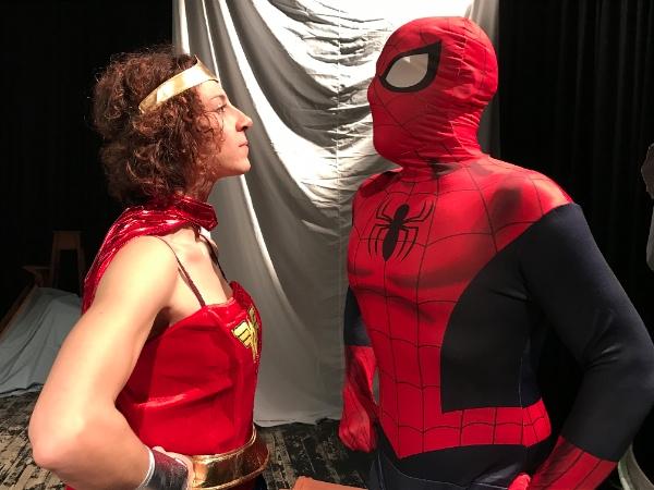 Mio papà è superman e mia mamma wonder woman teatri di